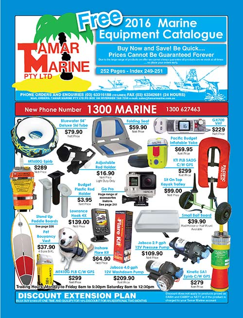 Tamar Marine Catalogue