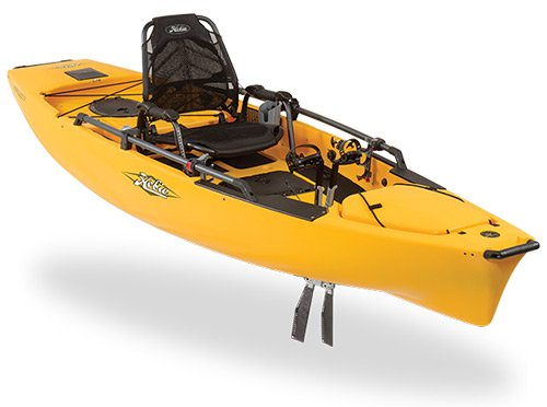 Hobie Mirage Pro Angler 12 Kayak in yellow