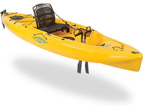 Hobie Mirage Outback Kayak in yellow