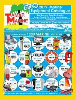 Get your free 2018 Tamar Marine Catalogue