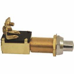 Switch Push Brass
