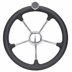 Steering Wheel S/s Anti-shock With Knob
