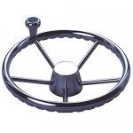 Steering Wheel S/s Dished With Knob