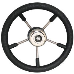 Steering Wheel S/s With Poly Hand Grip