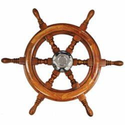 Steering Wheel Traditional Teak