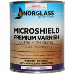 Norglass Microshield Premium Varnish