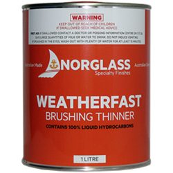 Norglass Weatherfast Brush Thinner