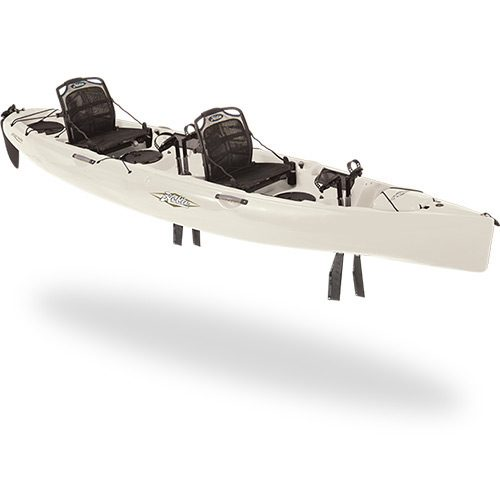 Hobie Mirage Oasis in White from Tamar Marine