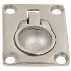 Cast Stainless Steel Flush Pull - Small