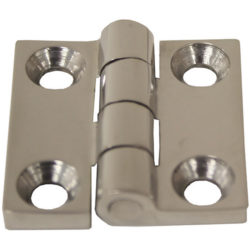 HINGE CAST S/S 38 X 38MM