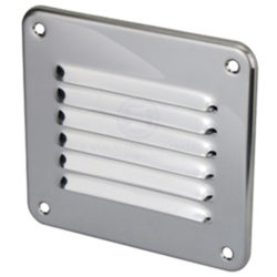 Stainless Steel Louvre Vent - Small