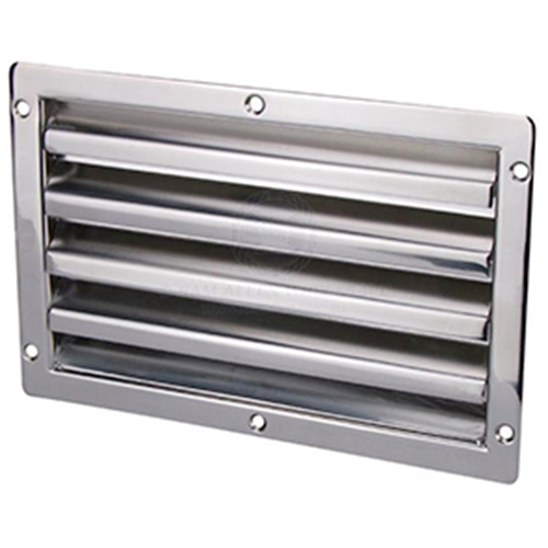 Stainless Steel Louvre Vent - Large
