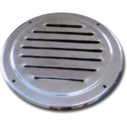 Round Stainless Louvre Vent