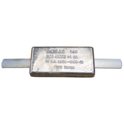 Block Anodes - With Strap